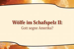 8 Wölfe im Schafspelz II  VOM SCHATTEN ZUM LICHT Christopher Kramp