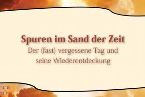 5 Spuren im Sand der Zeit VOM SCHATTEN ZUM LICHT Christopher Kramp